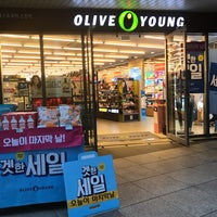 Photo taken at OLIVE YOUNG by NamChul S. on 9/7/2017