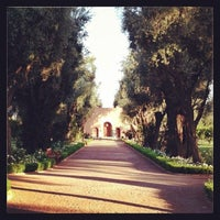 Photo taken at La Mamounia by Stephanie J. on 6/18/2013