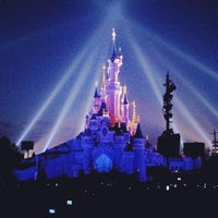Photo taken at Disneyland® Paris by Nilson J. on 5/2/2013