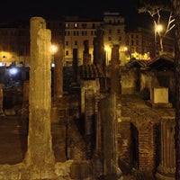 Photo taken at Largo di Torre Argentina by Maxim A. on 7/20/2013