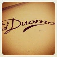 Foto diambil di Pizzeria Al Duomo oleh Maxim A. pada 12/28/2012