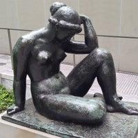 Photo taken at MoMA Sculpture Garden by Maxim A. on 5/7/2013