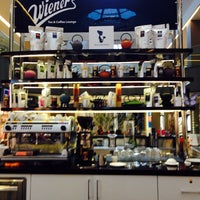 Photo taken at Wiener's Tea&Coffee Lounge by F. H. on 6/7/2014