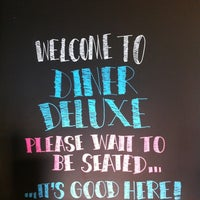 Photo taken at Diner Deluxe by Colleen W. on 9/29/2012