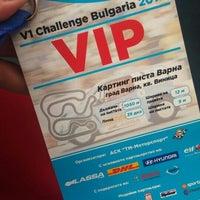 Photo taken at Varna Karting Track by Suzana M. on 8/30/2015