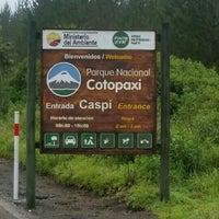Photo taken at Parque Nacional Cotopaxi Caspi Entrada by Camilla O. on 7/19/2015