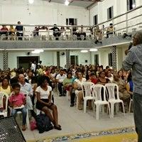 Photo taken at Igreja Batista Missionária em SLM by Flávio Vidal V. on 4/25/2015