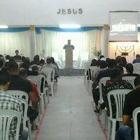 Photo taken at Igreja Batista Missionária em SLM by Flávio Vidal V. on 7/29/2014