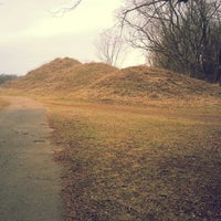 Photo taken at Spiro Mounds State Park by Jessica H. on 3/8/2014