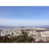 Photo taken at 안마산 by Go Y. on 1/11/2014