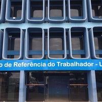 Photo taken at Centro de Referência do Trabalhador - Leonel Brizola by Allan F. on 3/21/2014