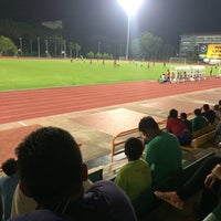 Photo taken at Stadium Maybank Bangi by Ali I. on 2/1/2016