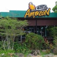 Photo taken at Cafe' Amazon by Anthony C. on 10/15/2017
