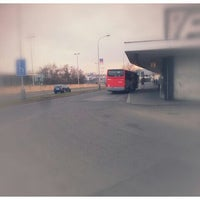 Photo taken at Kačerov (bus) by Jakub M. on 4/7/2013