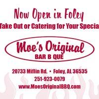 Photo taken at Moe's Original BBQ by Eskimo Advertising on 4/13/2015