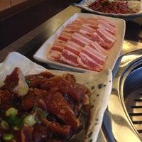 Photo taken at Han Sang Korean Charcoal BBQ by Zoey L. on 9/10/2014