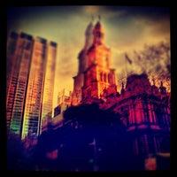 Photo taken at Sydney Town Hall by jaddan b. on 8/3/2012