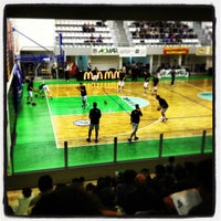 Photo taken at Palasport Angelo Costa by Daniele M. on 2/10/2013