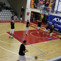 Photo taken at Palasport Angelo Costa by Daniele M. on 10/31/2013