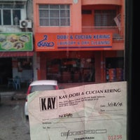Photo taken at Kay Laundry & Dry Cleaning by Ejam 8. on 7/14/2014