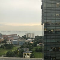 Photo taken at Mapletree Business City by Andy H. on 11/20/2017
