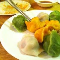 Photo taken at Mandoo Bar by Elizabeth F. on 10/25/2012