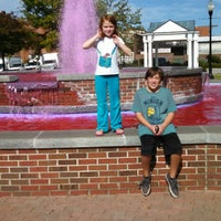Photo taken at The Courtyard and Fountain by Derek B. on 10/18/2014