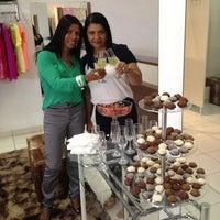 Photo taken at Santa Flor Showroom by Solange T. on 3/7/2014