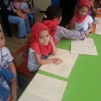 Photo taken at Mehmetçik İmam Hatip Ortaokulu by Özlem A. on 6/18/2015