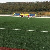 Photo taken at Kuzuluk Stadı by Dogan Ç. on 10/17/2015