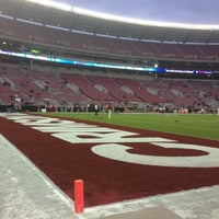 Photo taken at Bryant-Denny Stadium by DJACEMAB1914 G. on 10/27/2012