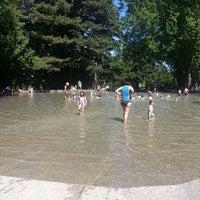 Photo taken at Volunteer Park Wading Pool by Virginia U. on 7/14/2013