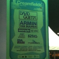 Photo taken at Creamfields by dilek on 12/7/2012