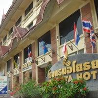 Photo taken at Ayothaya Hotel by โรงแรมอโยธยา (Ayothaya Hotel) on 3/8/2014