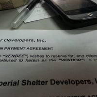 Photo taken at Shelter Systems Devt Corp by Ana P. on 4/12/2013