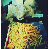 Photo taken at Mc Donald's by Nagehan T. on 5/8/2014