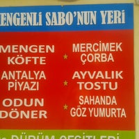 Photo taken at mengenli sabonun yeri by Seda C. on 8/29/2014