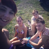 Photo taken at Целлофановое озеро by Анастасия С. on 8/5/2014