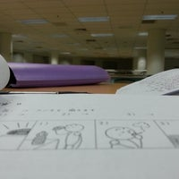 Photo taken at UTAR Sg Long Library by Liew A. on 4/24/2014