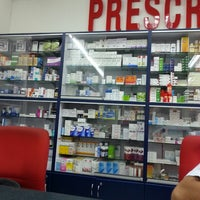 Photo taken at Red Cap Pharmacy by Saido S. on 2/21/2014