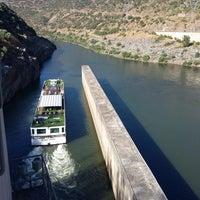 Photo taken at Valeira Dam by Antonio Jorge A. on 8/10/2016