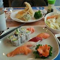 Photo taken at Miso Sushi by Tyler E. on 4/15/2014