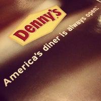 Photo taken at Denny's by Bruno G. on 10/28/2012