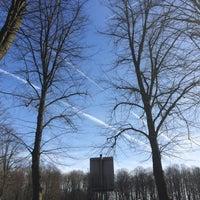 Photo taken at Stadtpark Langst Ahlen by Yasemin K. on 3/8/2015