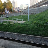 Photo taken at MetroLink - Civic Center Station by Lea M. on 10/16/2012