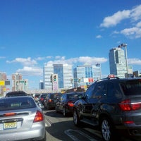 Photo taken at Holland Tunnel by Sascha M. on 9/15/2012
