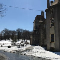 Photo taken at Fonthill Castle by Mackenzie K. on 3/19/2017
