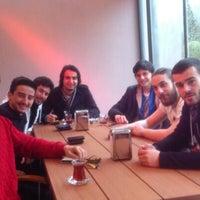Photo taken at Haliç BESYO Cafe&Lounge Bar by Efe G. on 2/24/2014