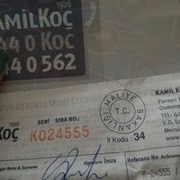 Photo taken at Kamil Koç -Çınar Şubesi by Serpil G. on 9/1/2015