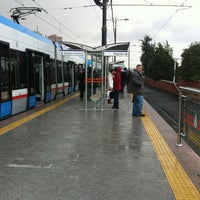 Photo taken at Cevizlibağ - A.Ö.Y. Tramvay Durağı by Bugra B. on 12/19/2012